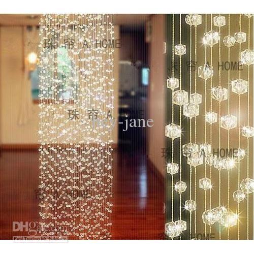 10strands X 1m Long Crystal Curtain Wedding Decoration Acrylic