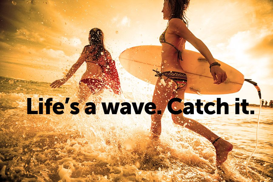 How many waves have you missed? Time to catch one!