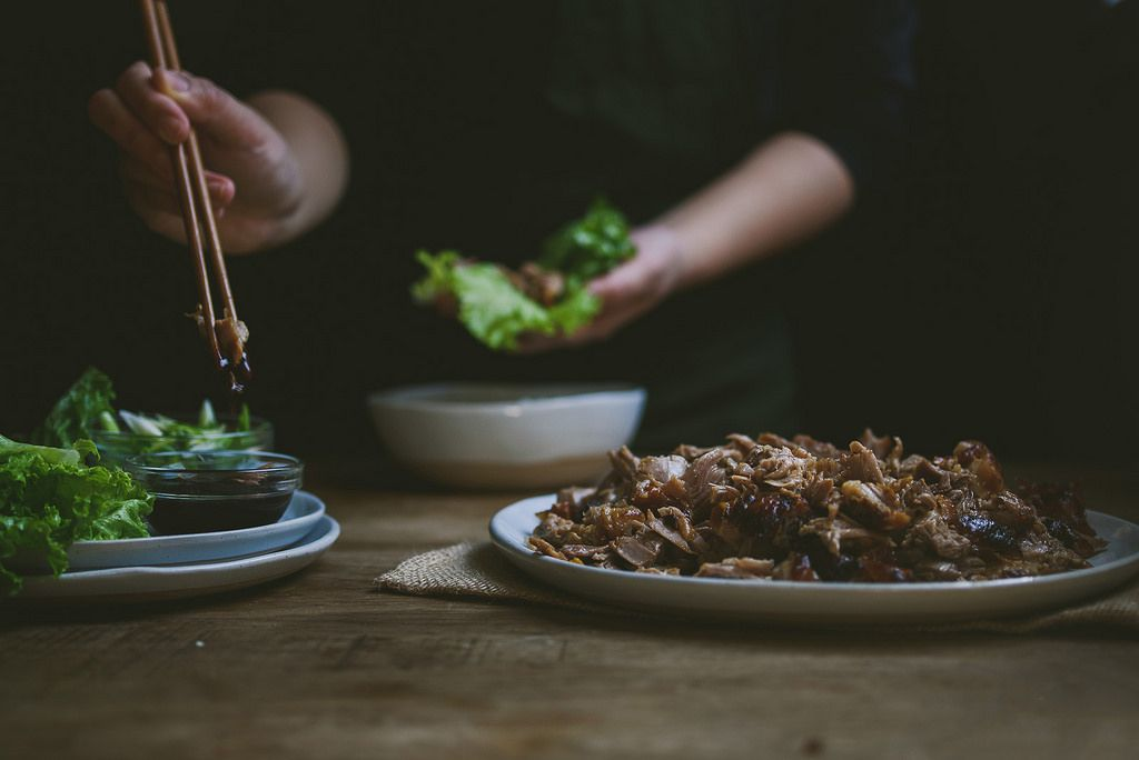 How to Make Better Lettuce Wraps at Home - Roasted Duck Lettuce Wraps