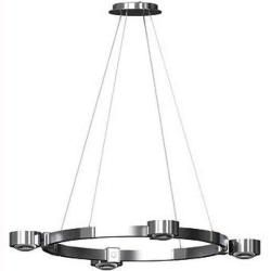 Photo of Top Light Puk Crown Pendelleuchte Chrom M 8x Linse klar Standardversion Top Light