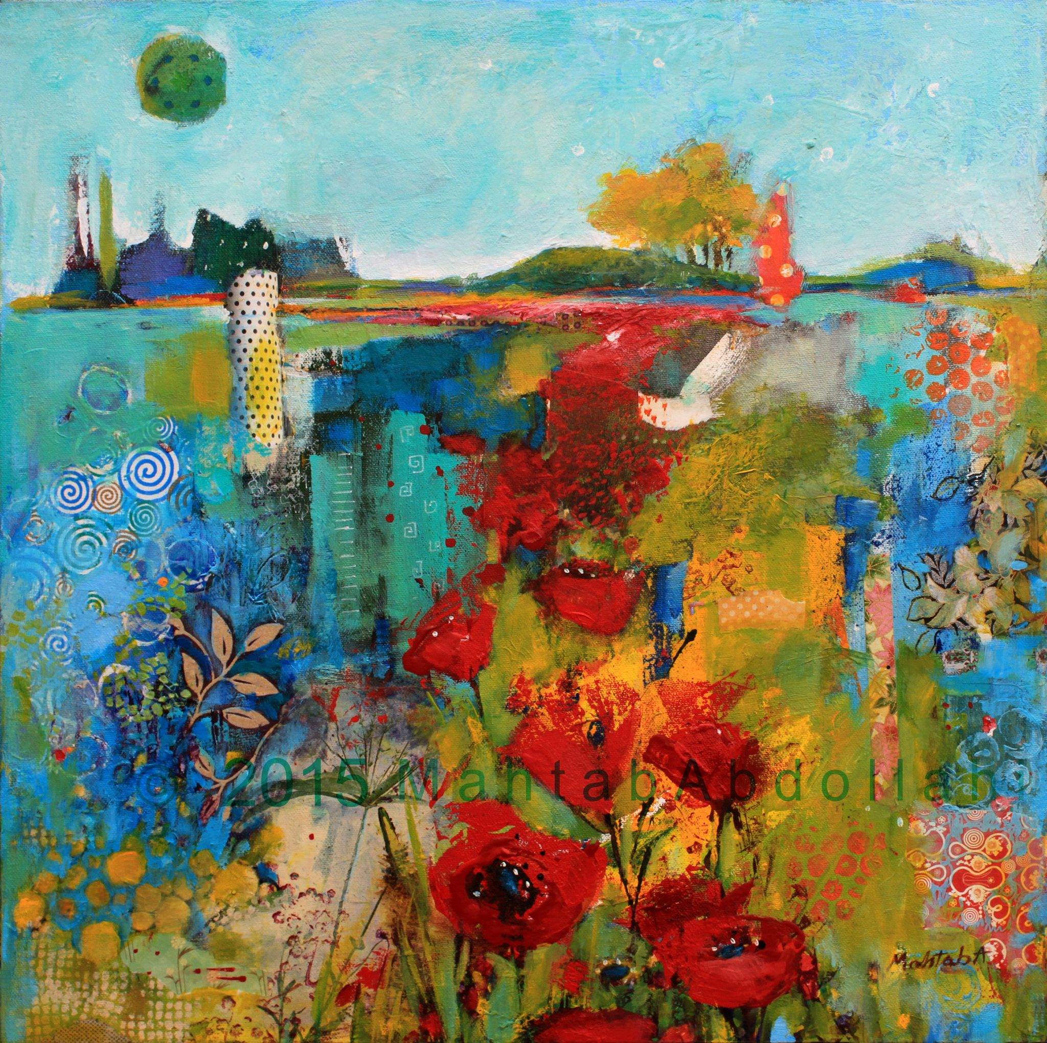 A Mystery Of Mysterious Painting Mixed Media Painting Beautiful Paintings Artwork