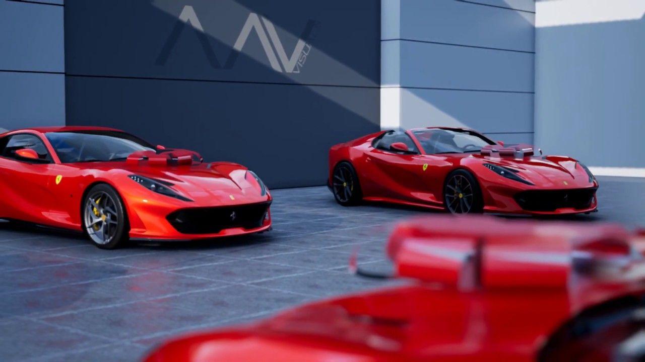 Ferrari Christmas Rosso Scudaria In 2020 Ferrari Super Cars Latest Cars