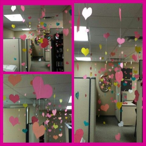 Valentines Office Decorating Crafts Valentines Work Party