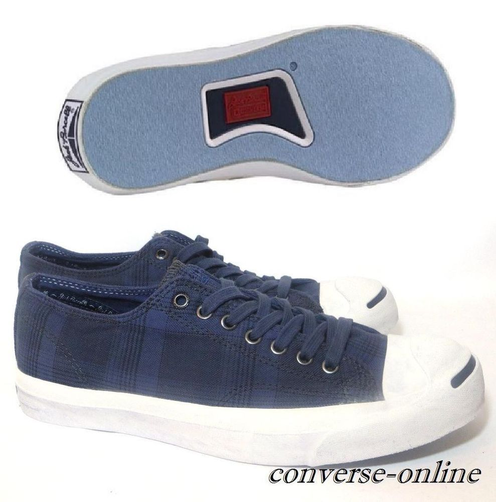 de4209d55ba51a Men CONVERSE All Star JACK PURCELL® Blue GARMENT DYE LTT Trainers Shoe UK  SIZE 9
