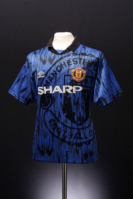 Manchester United Football Shirt (away, 1992-1993) | Manchester ...