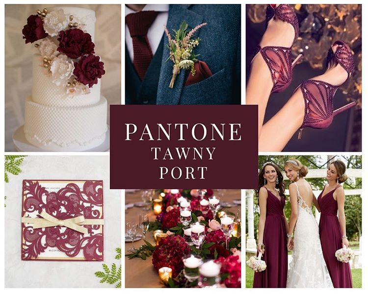 Pin By Marsha Gulick3 On Tawny Port Pantone Fall 2017 Fall Wedding Colors Red Fall Wedding Colors Pantone Fall 2017