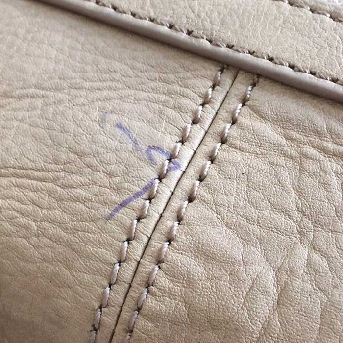 How To Remove Ballpoint Ink Stains From Leather Purses Ink Stain