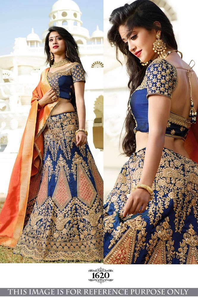 0e2c701d38cdd INDIAN ETHNIC LEHNGA WEDDING WOMEN DESIGNER BRIDAL BOLLYWOOD PARTY WEAR NX  150  Unbranded  Lehenga