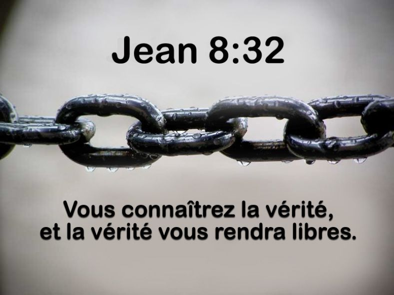 La Verite Libere Versets Citations Bibliques Paroles De Jesus