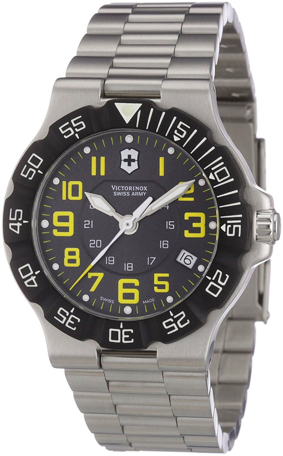Victorinox Swiss Army Men's 241413 Summit XLT Grey Dial Watch * Click on the image for additional details.