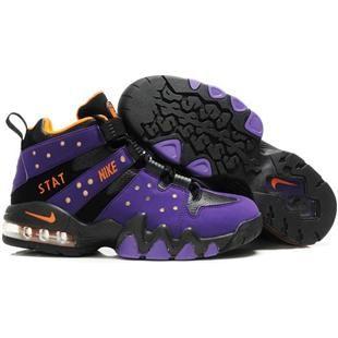 Nike Air Max2 CB 94 Charles Barkley Shoes PurpleBlack