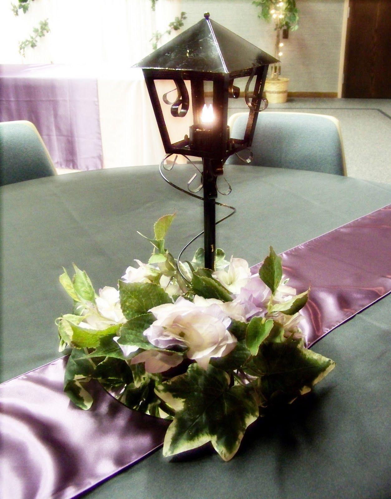 Black Lanterns For Wedding Centerpieces | lighted black lantern ...