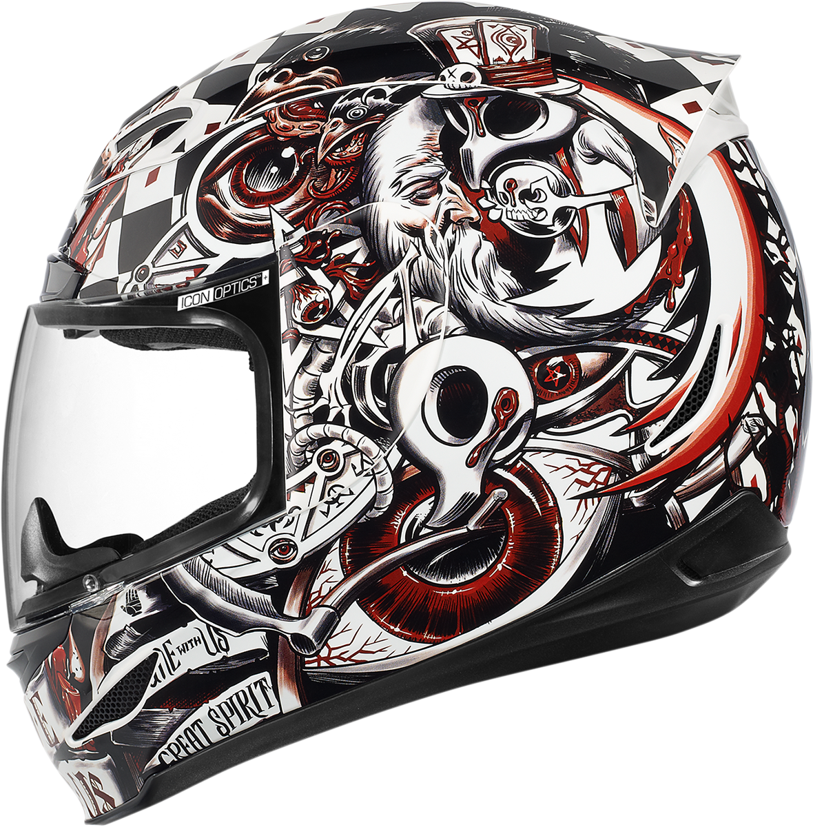 Airmada Seance Red Products Ride Icon um yes please