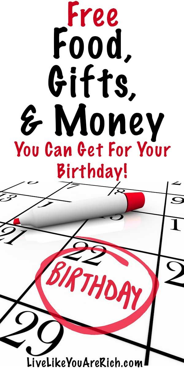 Freebies & Coupons You Can Get for Your Birthday