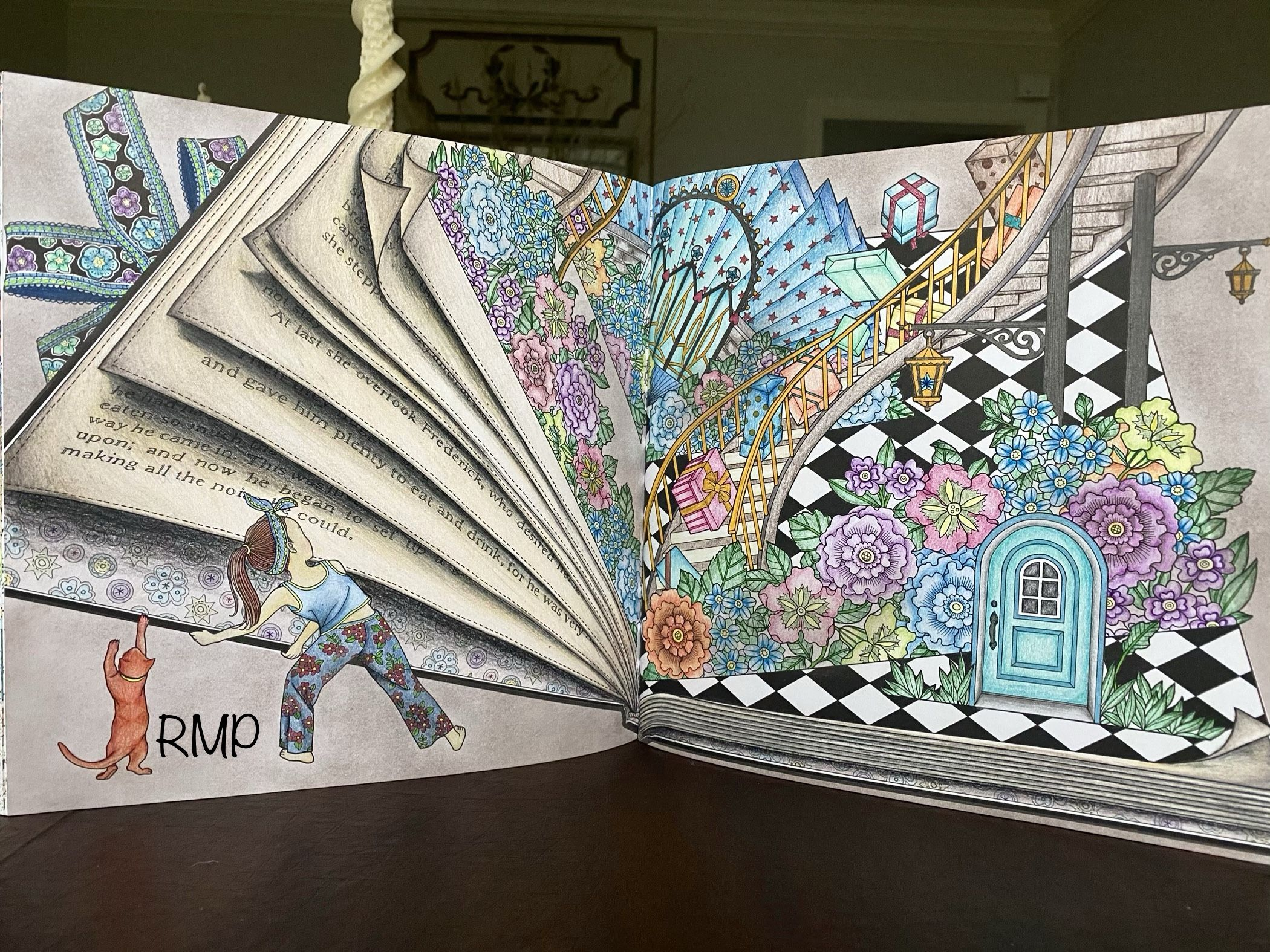 Thenightvoyage The Night Voyage Coloring Book Daria Song Prismacolor Premier Coloring Books Mystical Art Coloring Pages