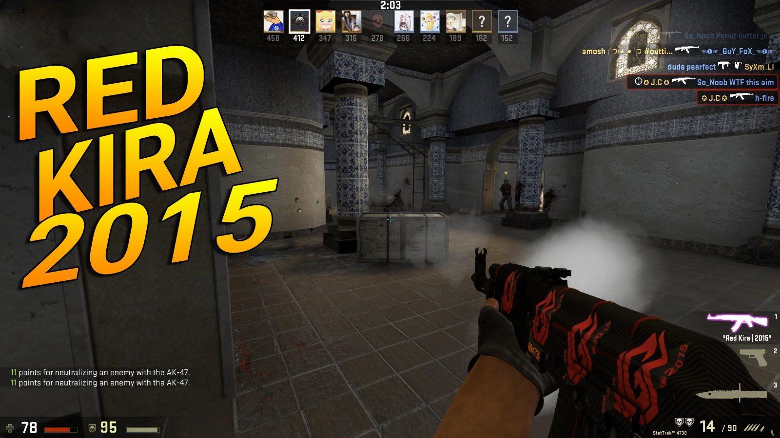Ak 47 Redline >> Pin On The Gamer J C Csgo More