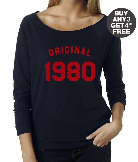 636f187d 38th birthday gift sweatshirt number tshirt birthday shirt 1980 sweater  pullover sweatshirt women gifts men sweatshirt ladies gifts idea