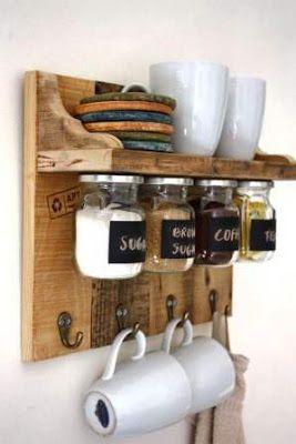 10 Ideas Para Organizar Tu Cocina Con Tarros De Vidrio Reciclar