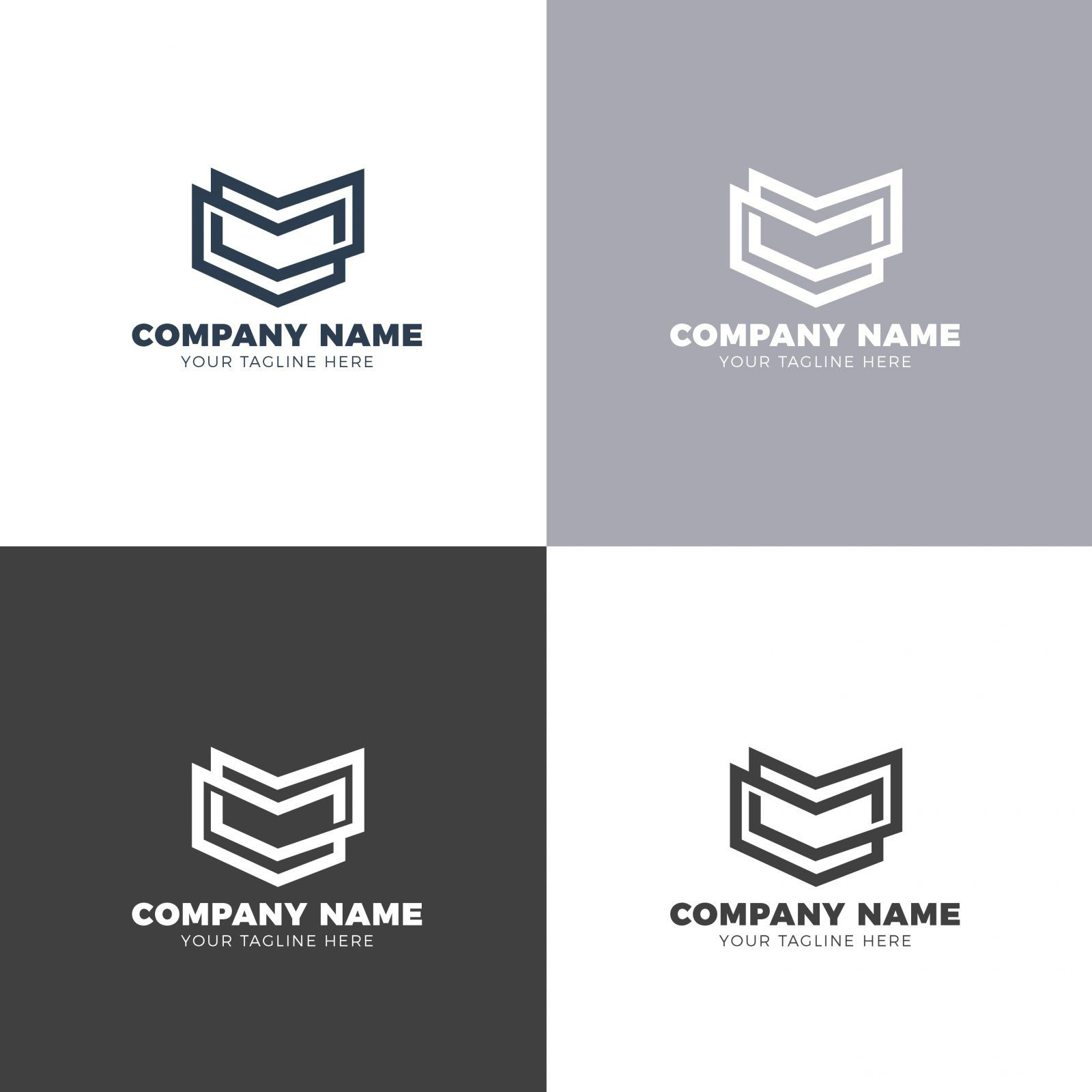 Rank Creative Logo Design Template 001877 Creative logo