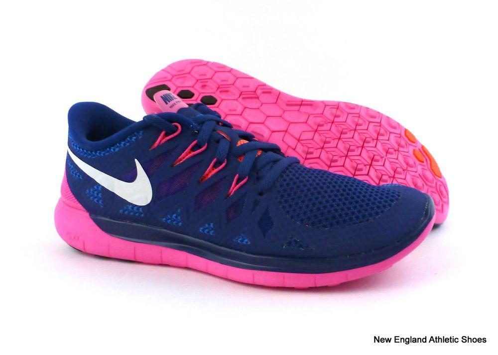 Nike womens free run trainers white size 6.5