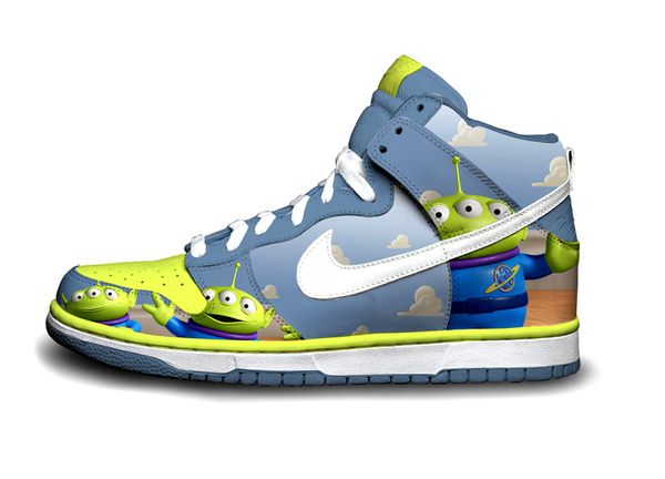 competitive price adc51 c8679 ... becauseimjay Nike Toy Story Dunks Anyone - Bring Out The Toon In You ...