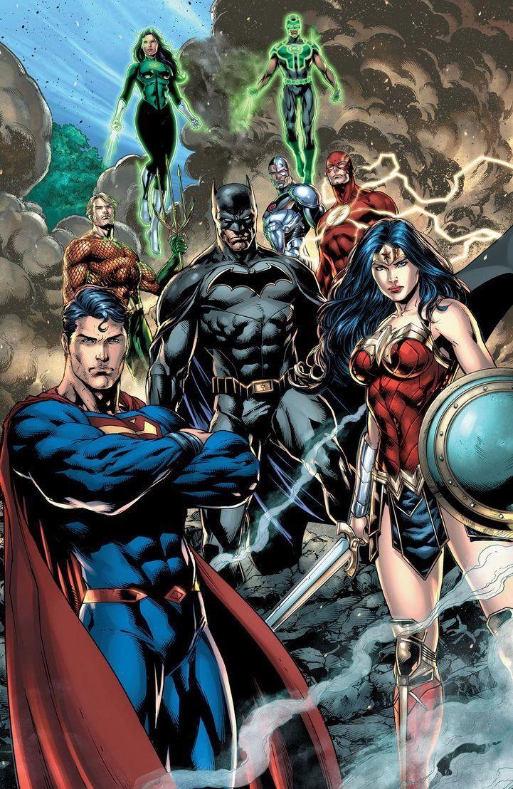 Pin De Carlos Eduardo Abreu Ribeiro Em League Of Justice Dc Comics