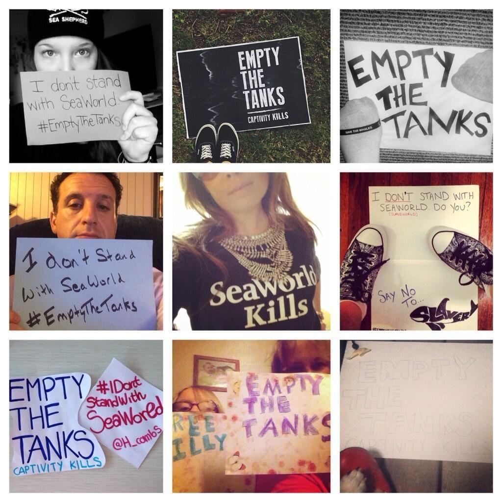 #EmptyTheTanks