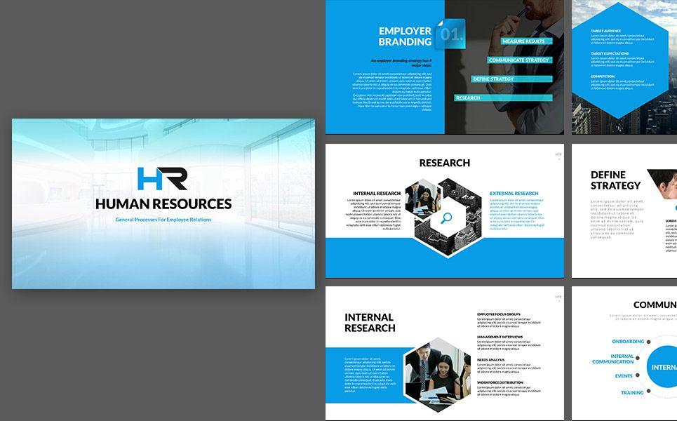 Hr Process Powerpoint Template 64735 Powerpoint Presentation Powerpoint Presentation Templates Powerpoint