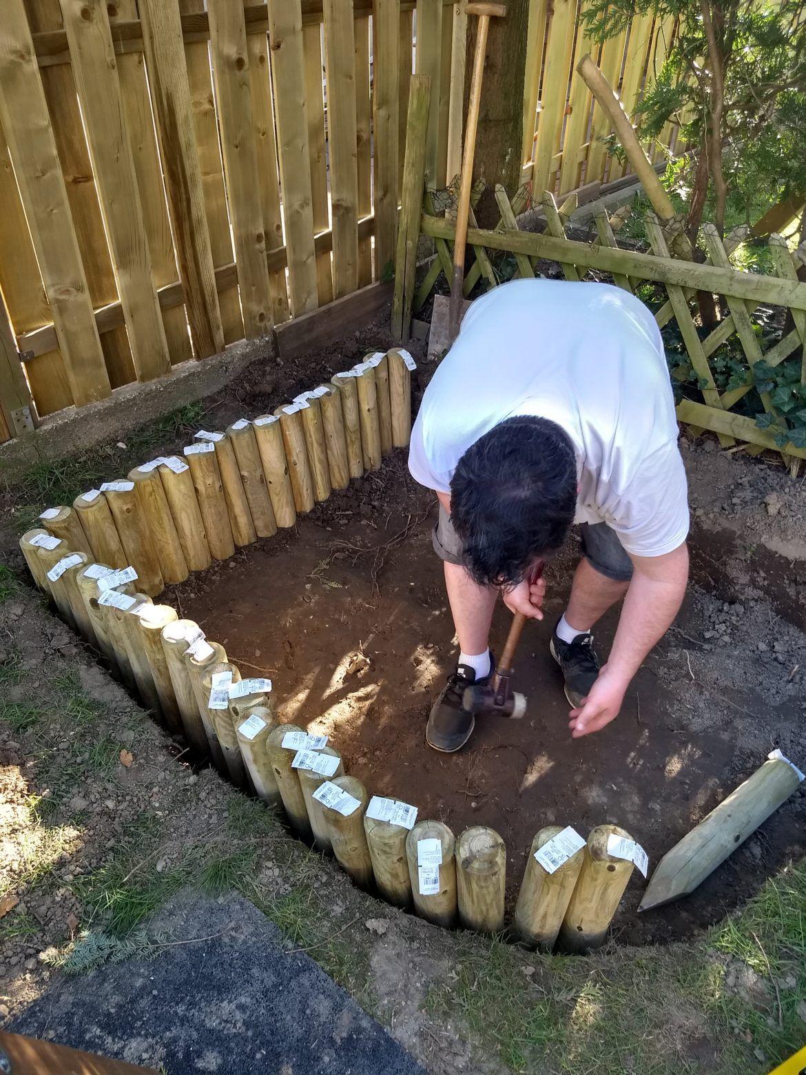 DIY Sandkasten   ein Gartenprojekt für Jedermann   Sandkasten ...