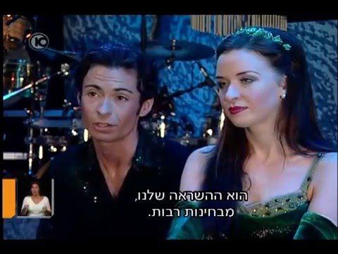 Gili Ben Ari and Riverdance on channel 10/ Israel TV