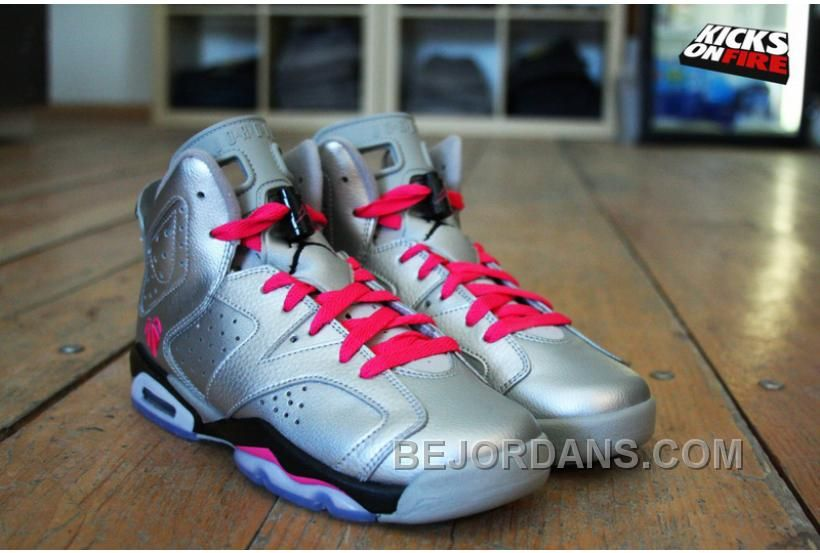 premium selection 0afb7 7f8b9 Women Jordan Shoes -jordan shoes for women Women Air Jordan 6 GS Valentines  Day  Women Air Jordan 6 - Women Air Jordan 6 GS Valentines Day has caught  every ...