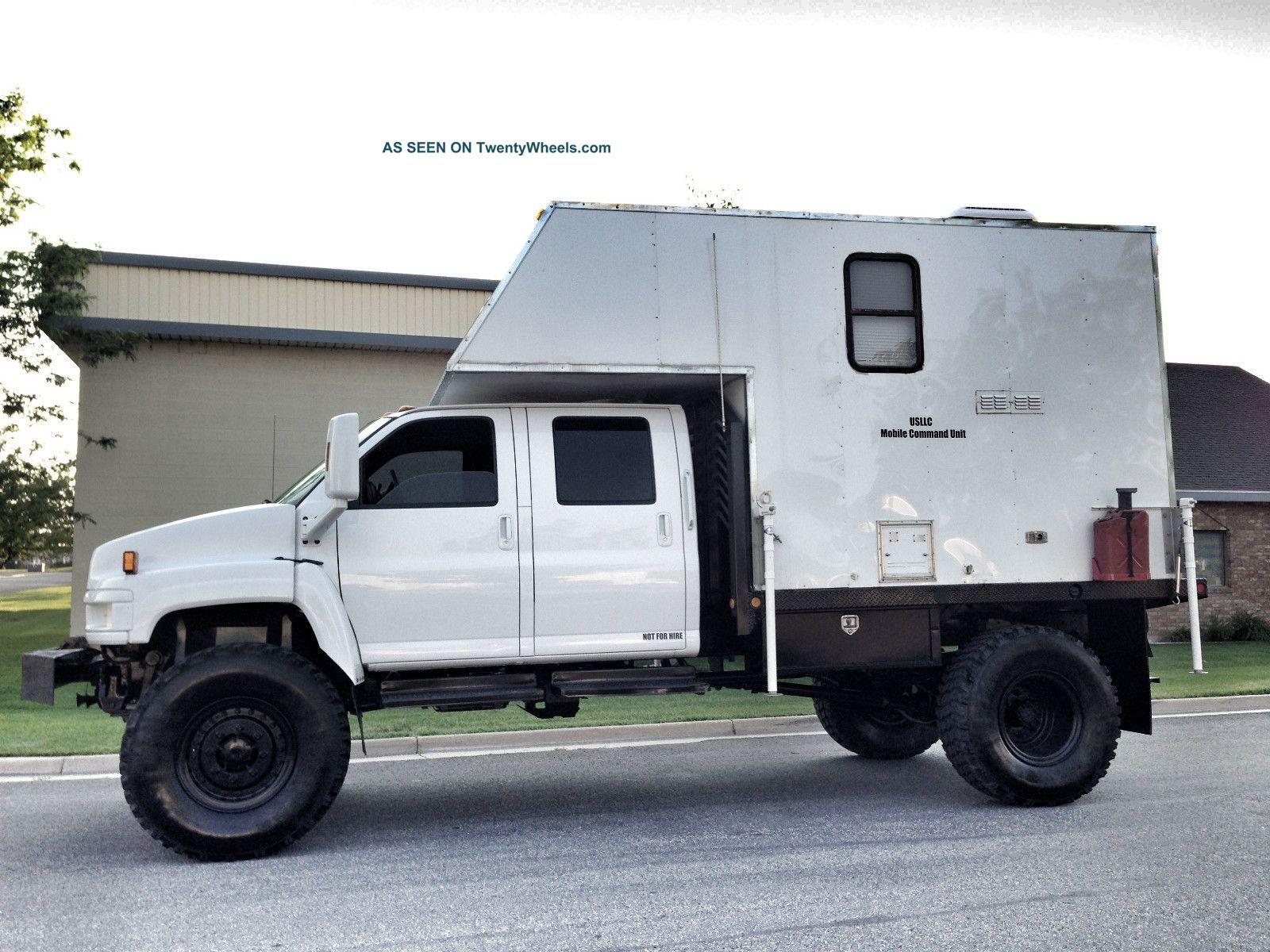 2005 Gmc Kodiak C5500 Kodiak Truck Truck Camper Expedition Truck