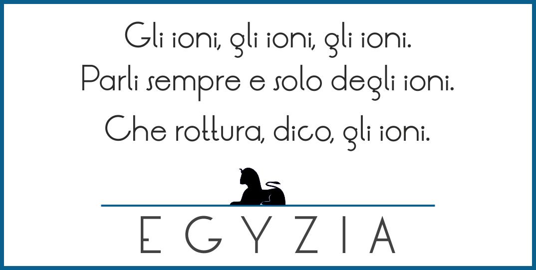 Gli ioni.   #humor #calembour http://ift.tt/1SuQNgw