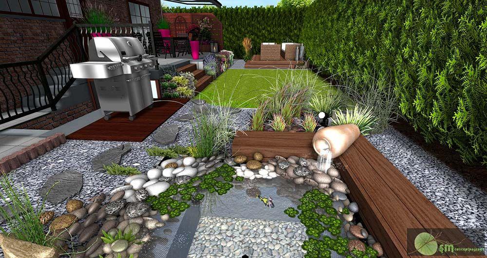 Deco Jardin Zen Interieur 10 D233co Terrasse Avec Galets With
