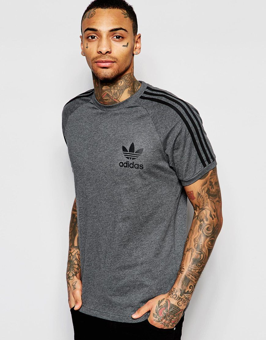 Él mismo idiota Armstrong  adidas Originals California T-Shirt AP9020 at asos.com | Mens tshirts, Long  sleeve tshirt men, T shirt