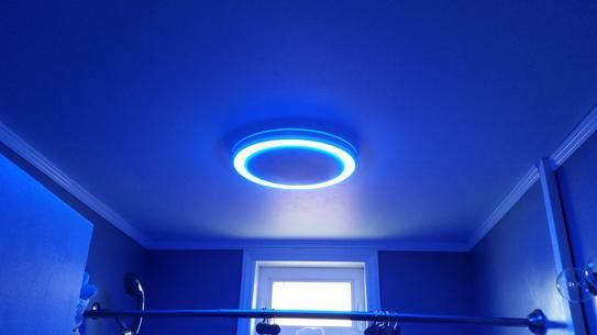 Home Netwerks Decorative White 90 Cfm Bluetooth Stereo Speaker