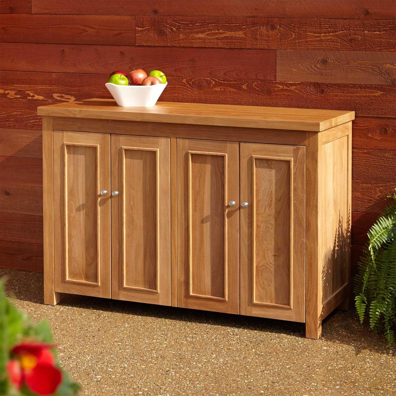 48 Lexington Teak Outdoor Cabinet Outdoor Furniture Outdoor Cheap Kitchen Remodel Cheap Kitchen Cabinets Outdoor Kitchen Island