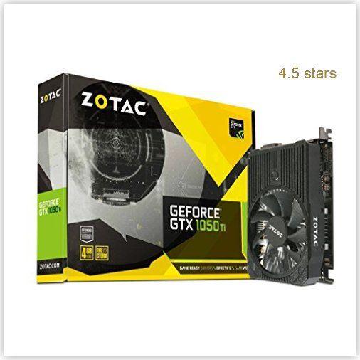 Zotac Geforce 1050ti Mini Graphics Graphic Card Video Card Nvidia