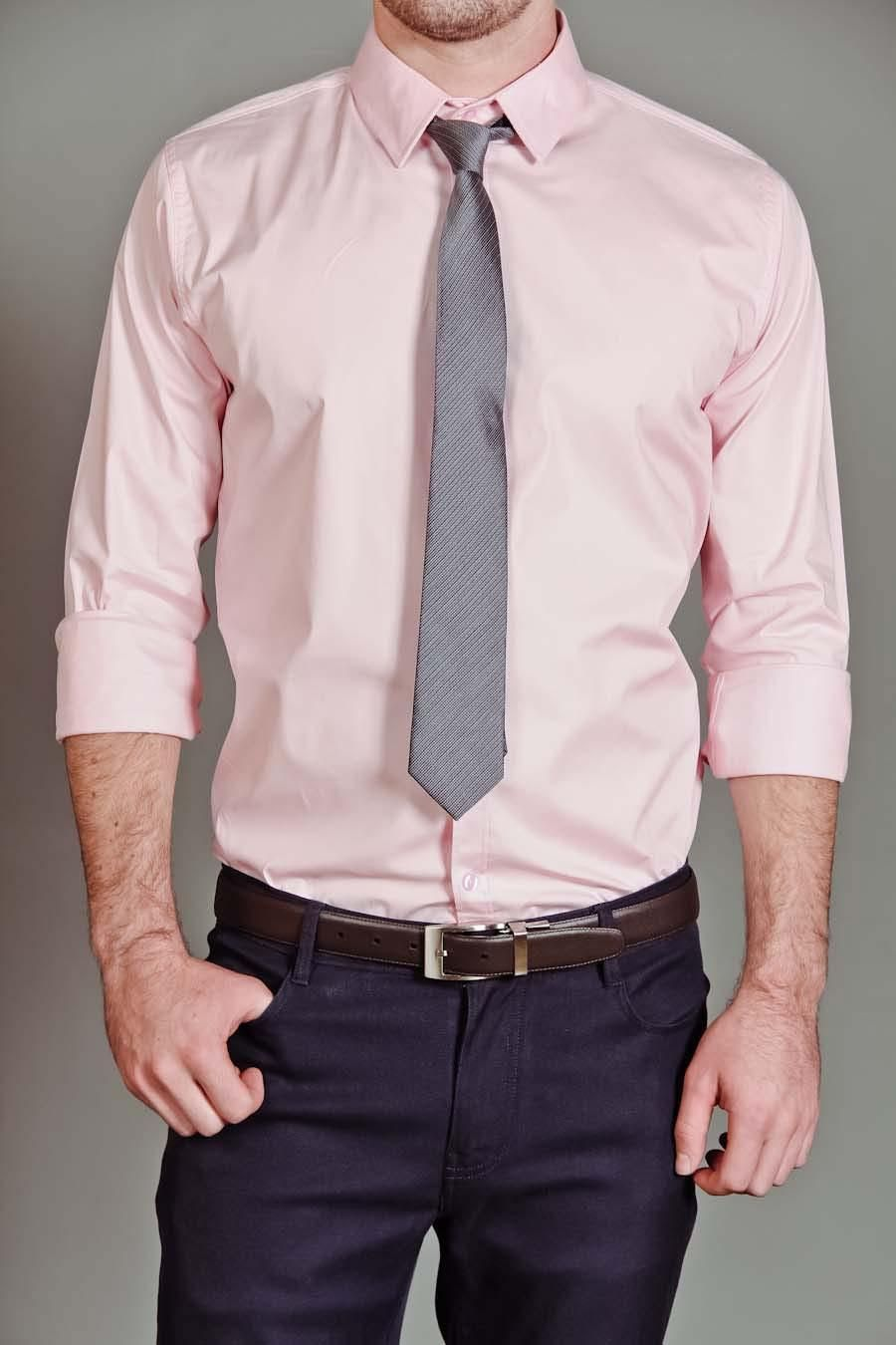c1da73d62860 Button Up Light Pink Shirt. | Men's Corner
