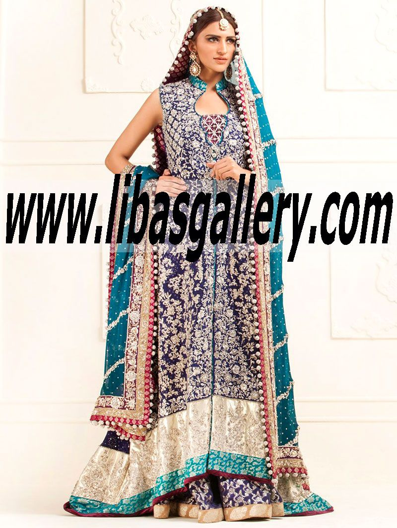 Best Shop Pakistani and Indian Bridal online Bridal retailer Wedding BrideGroom Designers Dresses Anarkali Angrakha Dress Lahenga Sharara Ghrara shalwar kameez