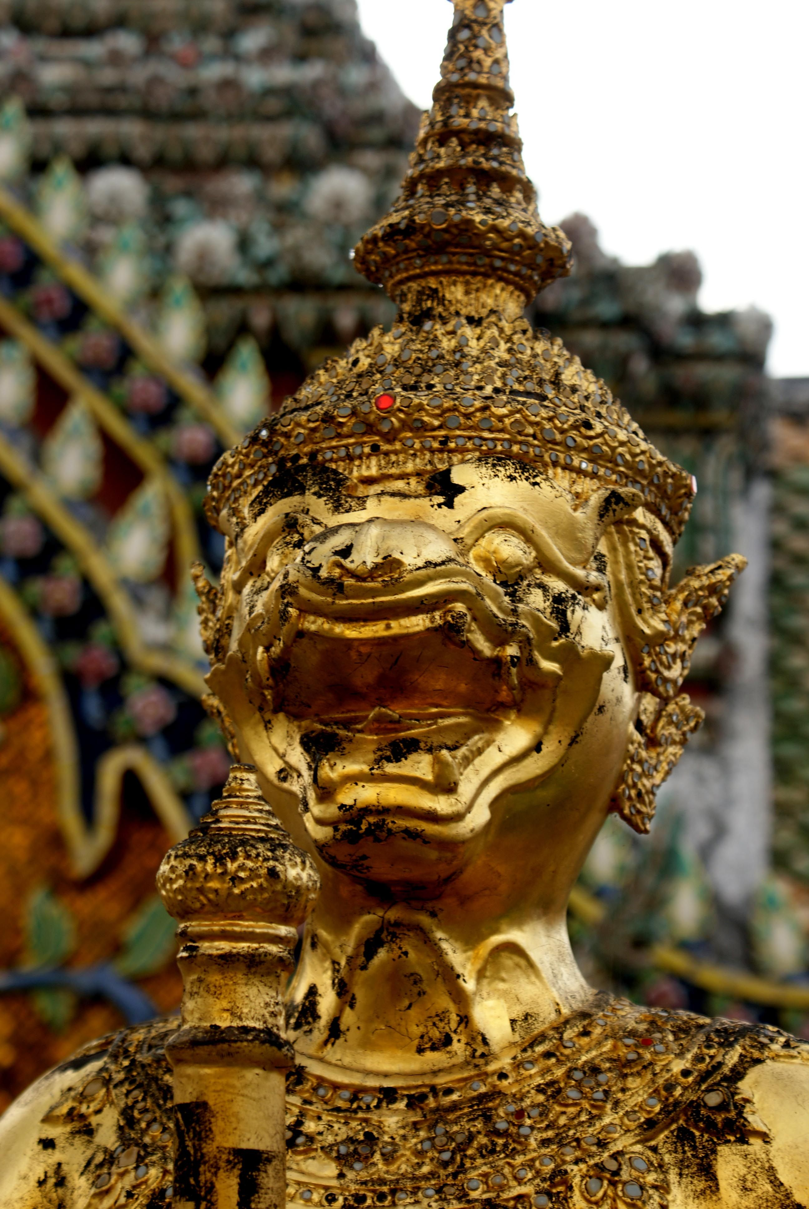 Hanuman,   Wat Phra Keo,   Bangkok.