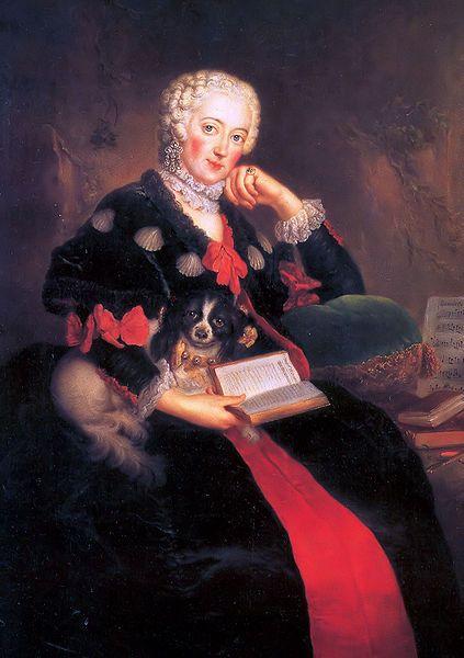 Antoine Pesne, Portrait of Wilhelmine of Prussia