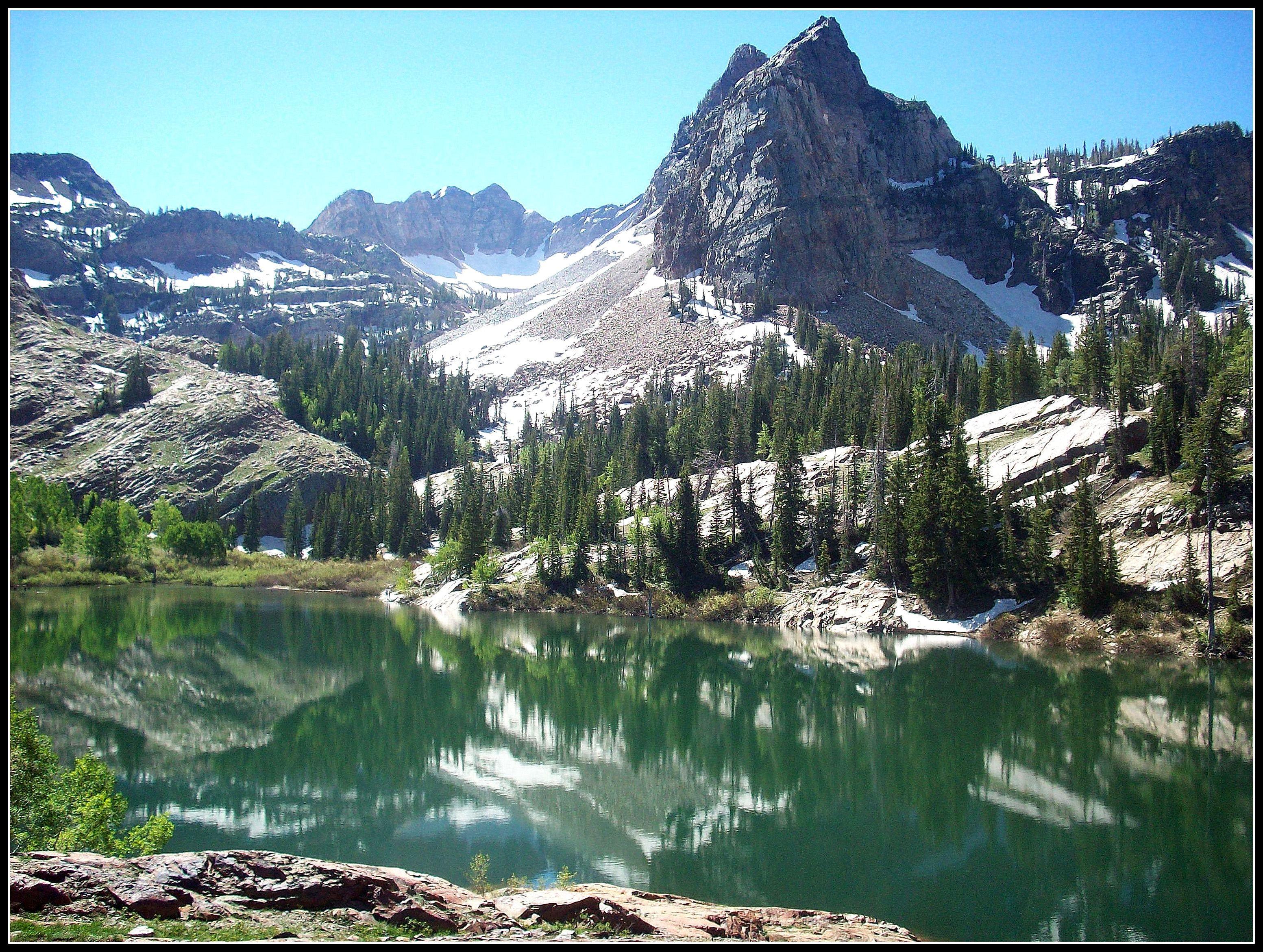 Best Sister Lakes – Lake Blanche Utah Sundial Cottonwood Canyon 640 x 480