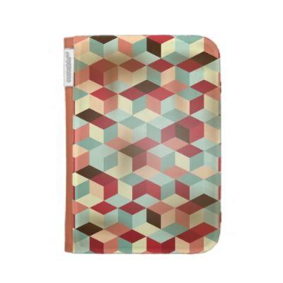 Mosaic, Kindle case by PinkHurricane