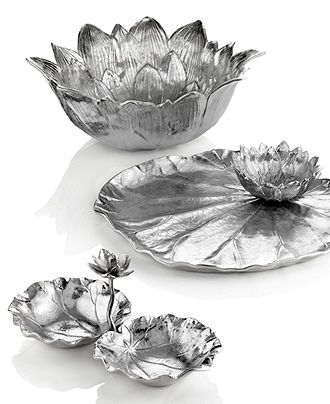 """Martha Stewart Collection 12 Inch Bowl 12/"""" Park Leaves Collection New"""