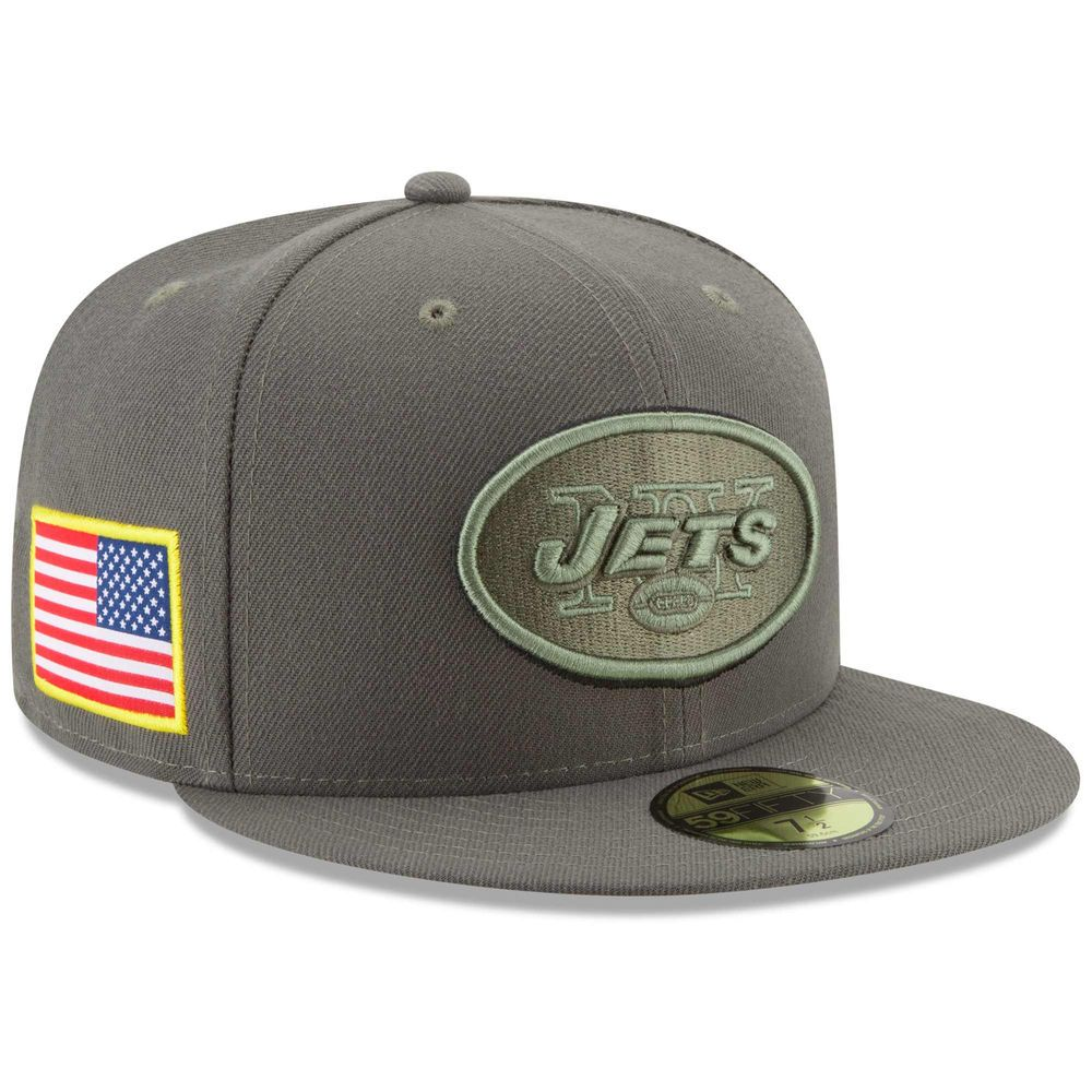 Mens new york jets new era olive 2017 salute to service