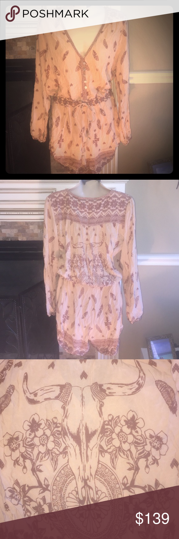 Spell And The Gypsy Collective Desert Wanderer Size large. Made with love in Indonesia. Only worn twice! Unavailable in stores! Spell & The Gypsy Collective Other