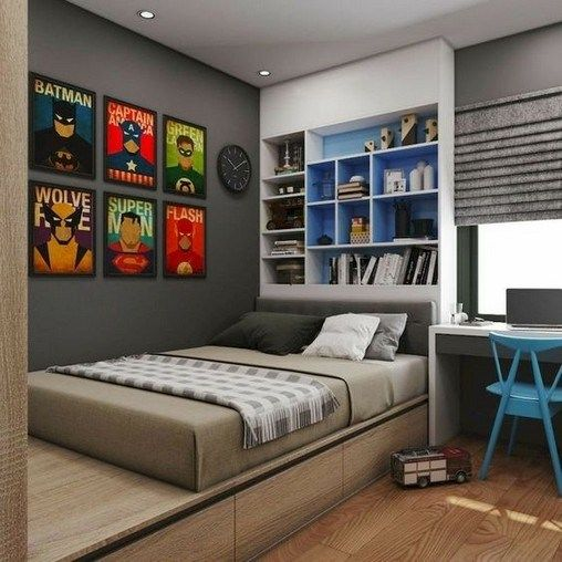 11 Cool And Stylish Boys Bedroom Ideas You Must Watch 1 En 2020 Con Imagenes Habitaciones Juveniles Muebles Habitacion Juvenil Pintar Habitacion