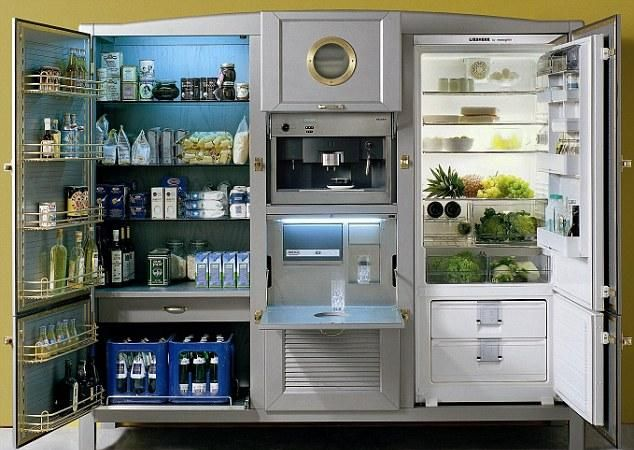 La Cambusa fridge - fully customizable!