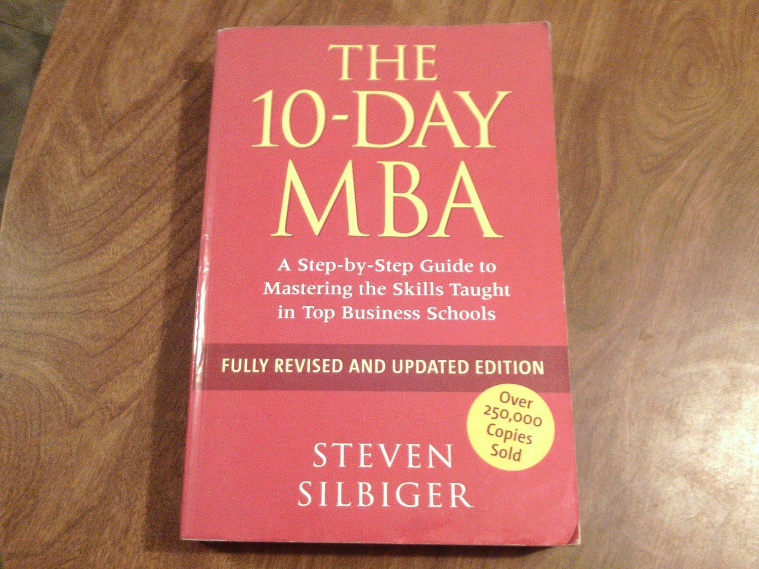 10 Day Mba Book
